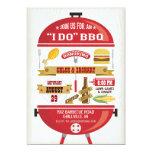 """"""" I DO """" BBQ Party Invitation"""