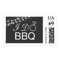 I do BBQ postage stamp / wedding postage stamp
