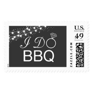 I do BBQ postage stamp / wedding postage stamp