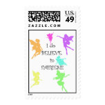 I do BELIEVE in Fairies!! Postage Stamp