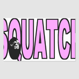 I do Believe There's a SQUATCH - Pink Lady Version Stickers