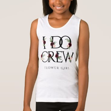 Bride Themed I Do Crew | Bridal Bachelorette Party Boho Chic Tank Top