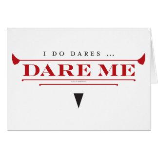 I Do Dares Notecards Card