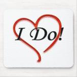I do! heart mouse pad
