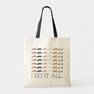 I DO IT ALL Ballet Tap Jazz Lyrical Dance Shoe Bag