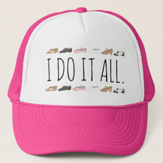 I DO IT ALL Ballet Tap Jazz Lyrical Dance Shoe Hat