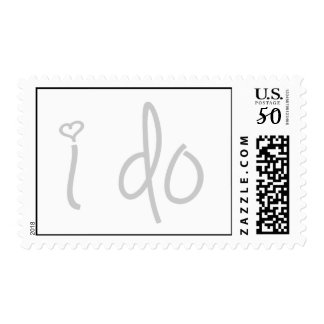 i do (light gray) postage