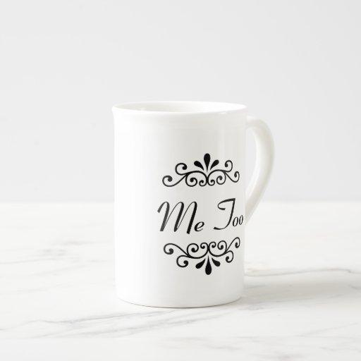 """""""I Do, Me Too"""" Couples Personalized Mug (2 of 2) Porcelain Mug"""