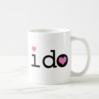 I Do Coffee Mug