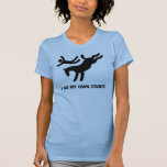 I Do My Own Stunts™  Horse: humorous picture of a T-Shirt