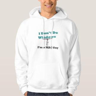 i do not do windows hooded pullover