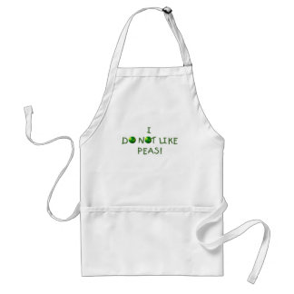 I Do  Not Like Peas Tshirts and Gifts Adult Apron