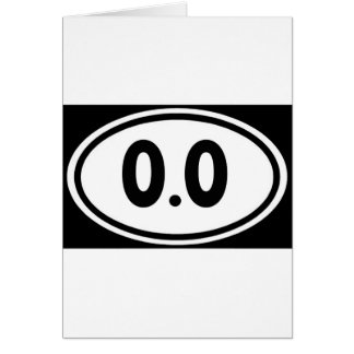 I do not run 0.0 Design hate running Card
