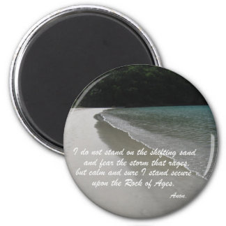 I do not stand... 2 inch round magnet