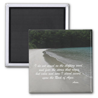 I do not stand... 2 inch square magnet