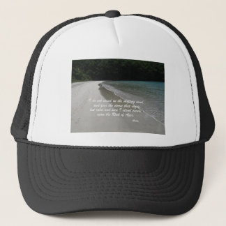 I do not stand... trucker hat