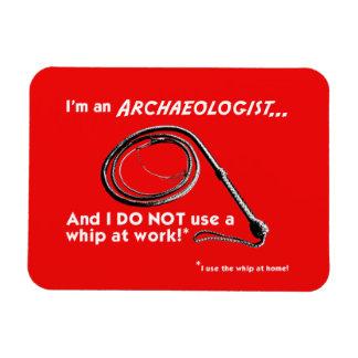 I DO NOT use a whip! Fridge Magnet