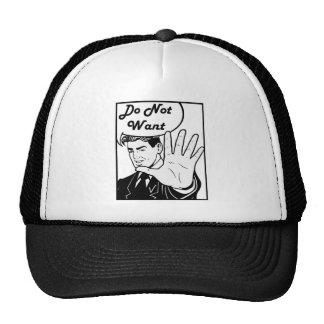 I Do Not Want Hats