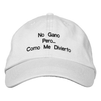 I do not win But As I amuse myself Embroidered Baseball Cap