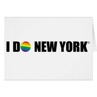 I DO NY CARD