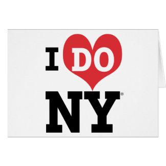 I DO NY heart Card