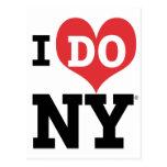 I DO NY heart Post Card