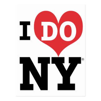 I DO NY heart Postcard
