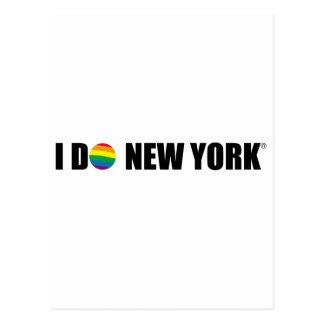 I DO NY POSTCARD