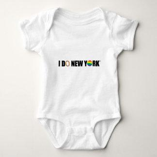 I DO NY ring Baby Bodysuit