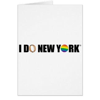 I DO NY ring Card