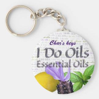 I Do Oils w/Lavender, Lemon and Peppermint Keychain