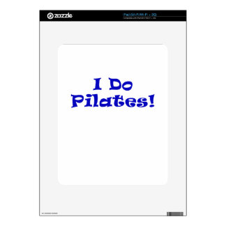 I Do Pilates iPad Decals