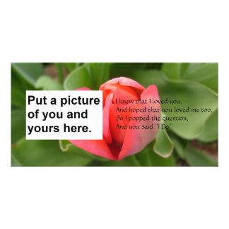 I Do Poem Marriage Card Photo Card