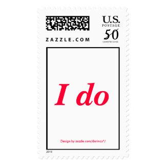 I do postage