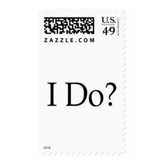 I Do? Postage Stamp