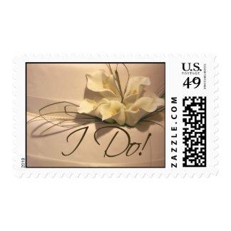 I Do! Postage Stamp