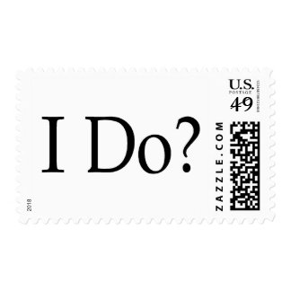I Do? Postage