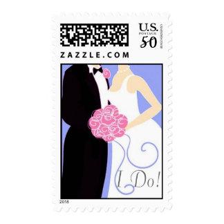 I Do postage stamp dk