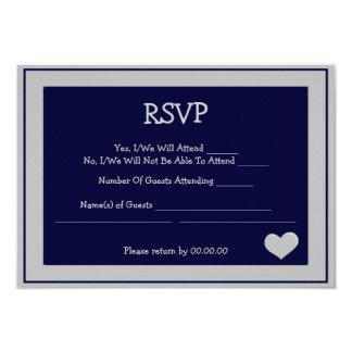 i do rsvp - custom card