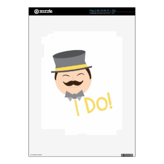 I Do Decal For iPad 2