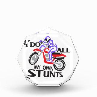 I Do Stunts Acrylic Award