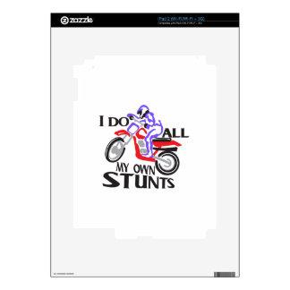 I Do Stunts Decal For iPad 2