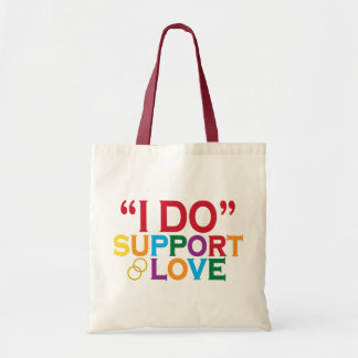 I DO support love (Prop 8) Tote Bag