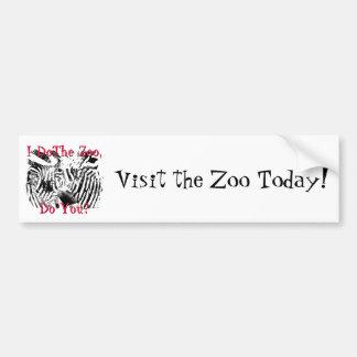 I Do The Zoo, Do You? Bumper Stickers