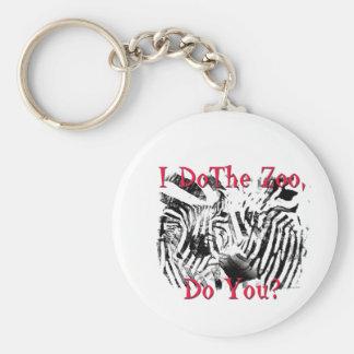 I Do The Zoo, Do You? Keychain