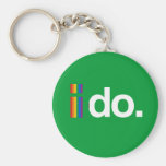 I DO WANT TO MARRY.png Basic Round Button Keychain