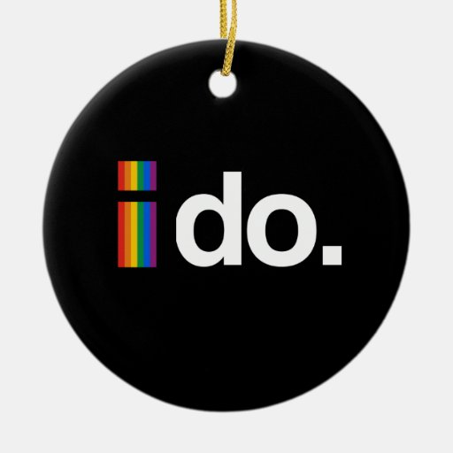I DO WANT TO MARRY.png Ornament
