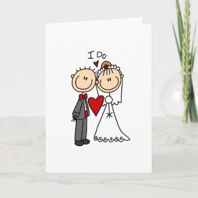 Free Wedding Ceremony on Do Wedding Ceremony Card By Stick Figures
