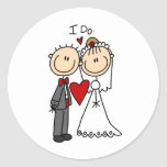 I Do Wedding Ceremony Sticker