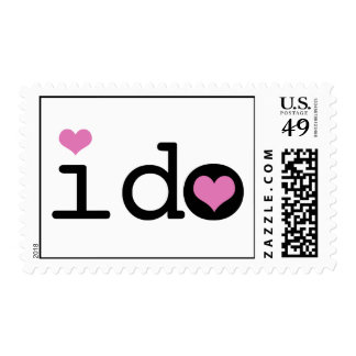 i do Wedding Postage